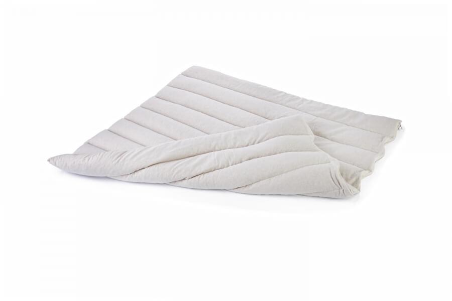 Nakup naravnega posteljnega vložka in terapevtske blazine
