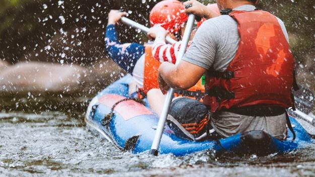 Adrenalinska doživetja na reki Soči