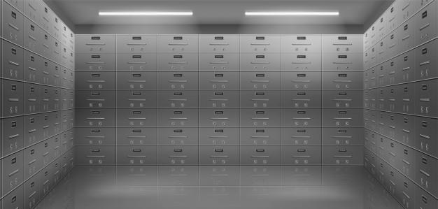Kovinske omare predstavljajo odlično arhivsko opremo