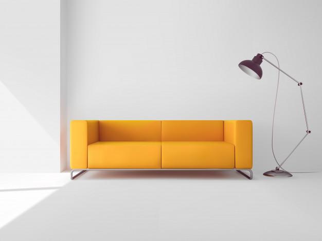 Moderne sedežne garniture kot osrednji del prostora