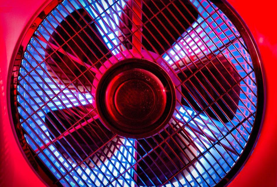Stropni ventilator lajša vroče poletne dni