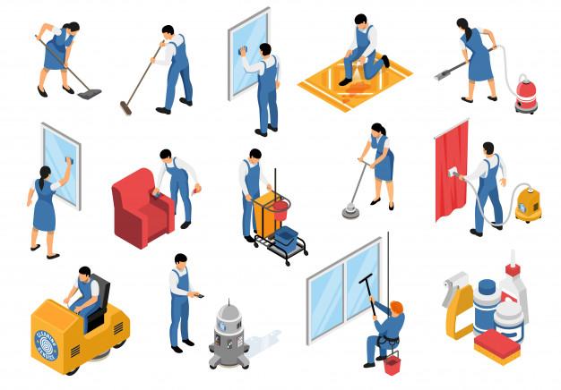 Priljubljene storitve za čiščenje prostorov