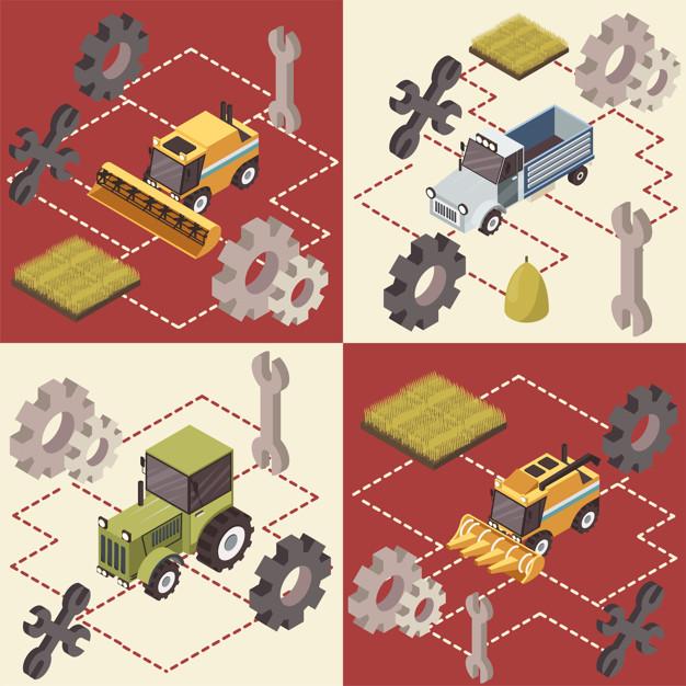 Kakovostni rezervni deli za traktorje podaljšujejo njihovo življenjsko dobo